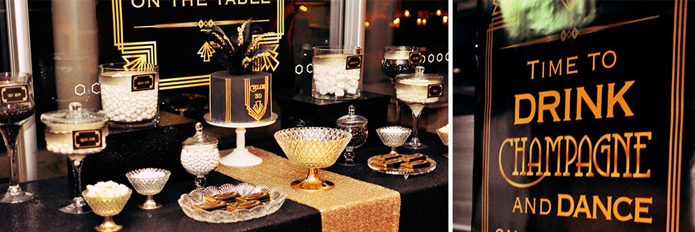 Great Gatsby 30th by Style Dolls and Blossom Tree Designs