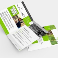 a3 to a4 folded brochures print2day sydney