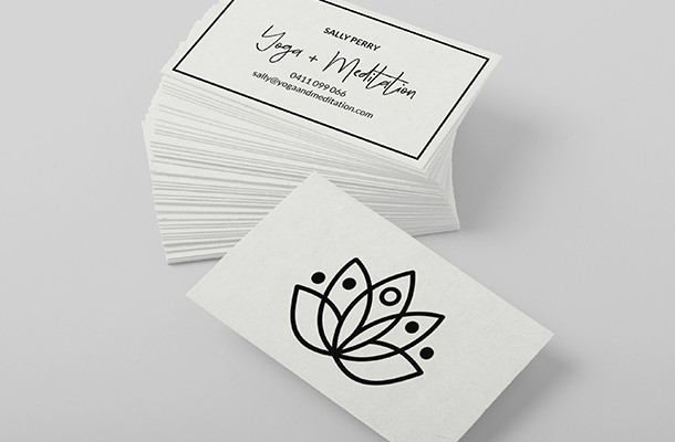 100% Recycled Business Cards