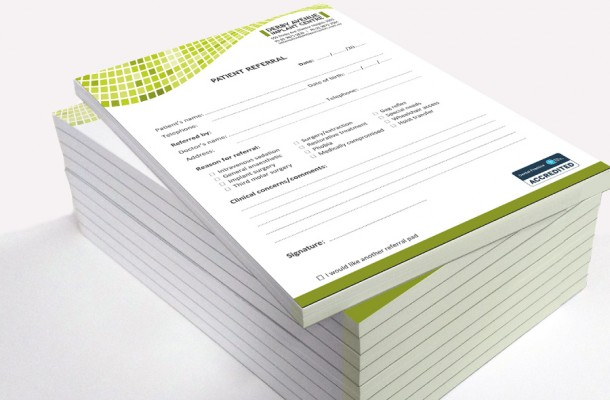 A5 Note & Referral Pads