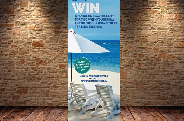 Pull-up Banners 2000 x 850