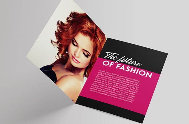 Folded Brochure Design
