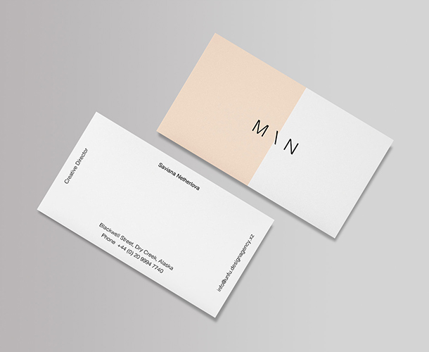 Business Card & Magnet Design
